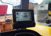 Weighlog Alpha 10 T4 in JCB Teleskoplader